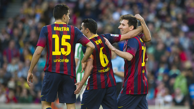 Barça need all three points to maintain the pressure on the two Madrid clubs. PHOTO: VÍCTOR SALGADO-FCB.