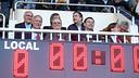 Josep Maria Bartomeu au Mini Estadi / PHOTO: MIGUEL RUIZ - FCB