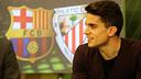 Marc Bartra on Barça TV / PHOTO: MIGUEL RUIZ-FCB