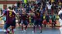 Dinamo Moscow – FC Barcelona Alusport (2-5)