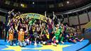 The UEFA Futsal Cup was dedicated to Tito Vilanova. PHOTO: GERMÁN PARGA-FCB.