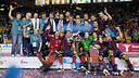 El Barça de Hockey patines, campeón de la Liga Europea 2013/2014 / FOTO: GERMÁN PARGA - FCB