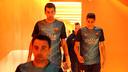 Busquets, dans le tunnel du Camp Nou / PHOTO: MIGUEL RUIZ-FCB