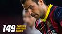 Cesc Fabregas #149 matches