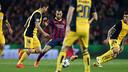 Mascherano és un dels cinc jugadors que ha estat titular en tots els partits contra l'Atlètic aquesta temporada / FOTO: MIGUEL RUIZ-FCB
