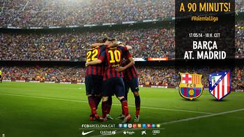 Wallpaper: Volem la Lliga!