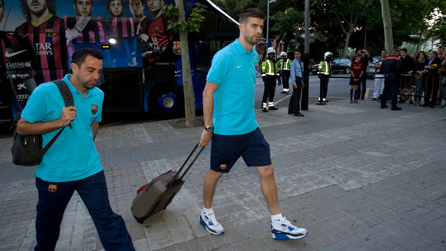 Xavi and Piqué are among the 24 man squad. / PHOTO: MIGUEL RUIZ-FCB