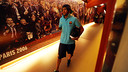 Neymar Jr, arribant al Camp Nou / FOTO: MIGUEL RUIZ-FCB