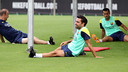 Xavi will be out for a week / PHOTO: MIGUEL RUIZ - FCB