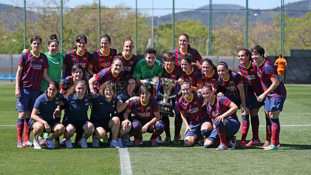 Women's team secure their third straight league title