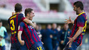 Babunski scored the winning goal / PHOTO: VÍCTOR SALGADO - FCB
