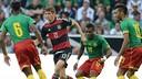 Germany v Cameroon.
