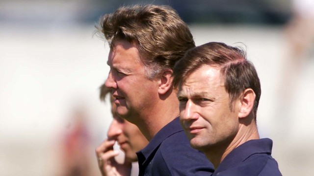 Van Gaal and Hoek were together at FCB in 2002