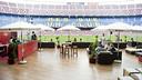 El Camp Nou Lounge ha tingut bona acollida entre els visitants / FOTO: VÍCTOR SALGADO - FCB