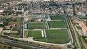 La Ciutat Esportiva des de l'aire / FOTO: ARXIU FCB