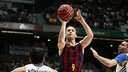 Huertas during the game. PHOTO: ACBPHOTO