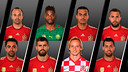 The eight players eliminated from the World Cup