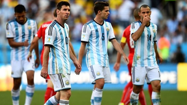 Leo Messi and Javier Mascherano have helped Argentina into the quarter-finals / PHOTO: FIFA.COM