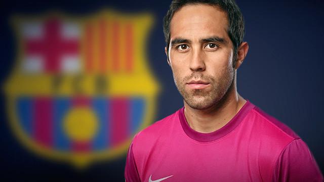 Bravo, presntat com a nou jugador del Barça