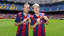 Niall Horan and Louis Tomlinson of One Direction visited the Camp Nou / PHOTO: MIGUEL RUIZ - FCB