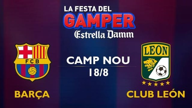 Joan Gamper Trophy.