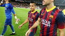 Alexis is leaving for Arsenal after three terrific years at Barça. PHOTO: MIGUEL RUIZ-FCB.