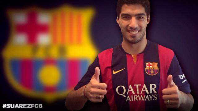 Suárez ya es blaugrana