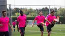 Barça B trained for the first time this preseason / PHOTO: GERMÁN PARGA - FCB