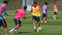 Bartra was among the players that trained on Thursday morning. PHOTO: MIGUEL RUIZ - FCB