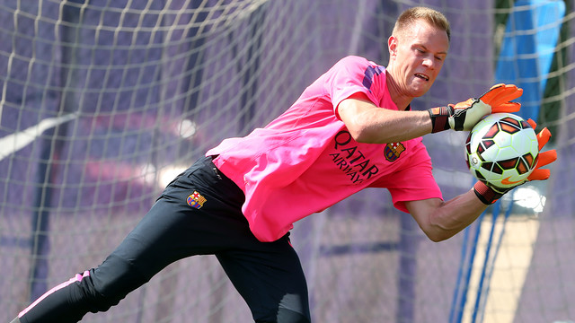 Ter Stegen could make his debut in Huelva / PHOTO: ARCHIVE FCB