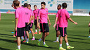 Another busy week of training lies ahead for the Barça players / PHOTO: Miguel Ruiz
