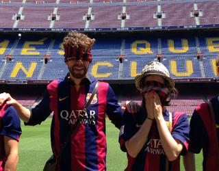 One Direction di Camp Nou
