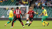 Nice and Norwich players in the preseason friendly