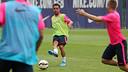Xavi Hernández / PHOTO: MIGUEL RUIZ - FCB