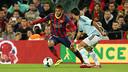 Neymar was back at the Club this morning/ PHOTO: MIGUEL RUIZ-FCB