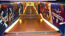 La nova imatge del túnel d'accés al terreny de joc del Camp Nou / FOTO: VÍCTOR SALGADO - FCB