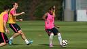 Rafinha prepared for the Joan Gamper Trophy / PHOTO: MIGUEL RUIZ - FCB