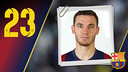 Portrait Thomas Vermaelen. Number 23