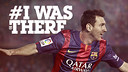 #Iwasthere, the new Barça ticketing campaign
