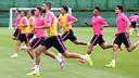 Wednesday morning training at the Ciutat Esportiva / PHOTO: MIGUEL RUIZ - FCB