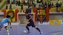 Sergio Lozano opens the scoreline / PHOTO: YANYA LUBIS