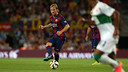 Rakitic spoke to the press after the game. PHOTO: MIGUEL RUIZ - FCB