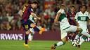 Leo Messi face à Elche / PHOTO: MIGUEL RUIZ - FCB