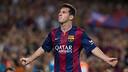 Messi, at Camp Nou against Elche / FOTO: GERMÁN PARGA - FCB