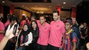 Ferrao and Sedano meet the Barça fans in Indonesia. PHOTO: ASTRI NOVIA.