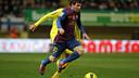 Leo Messi at El Madrigal in the 2011-12 season. PHOTO: Miguel Ruiz - FCB