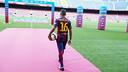 Douglas au Camp Nou FOTO: Miguel Ruiz - FCB
