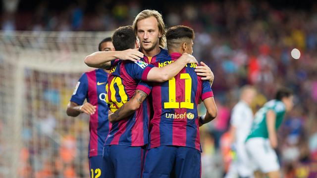 Messi, Rakitic i Neymar / FOTO: GERMÁN PARGA - FCB