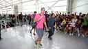 Claudio Bravo, en la estación de Castellón / FOTO: MIGUEL RUIZ - FCB
