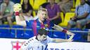 Sigurdsson finished top scorer with eight / PHOTO: VÍCTOR SALGADO - FCB